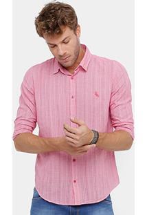Camisa Reserva Regular Vichy Masculina - Masculino