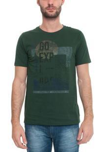 Camiseta Manga Curta Go Explore