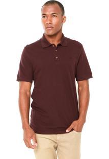 Camisa Polo Triton Bordada Vinho