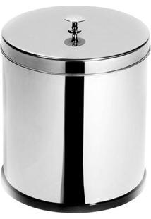 Lixeira Com Puxador Elegance Inox 6L - 29654