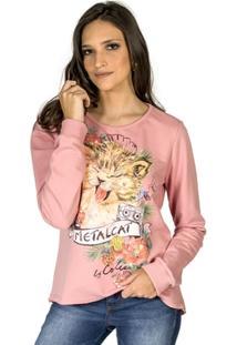 Blusão Moletom Metalcat Colcci - Feminino