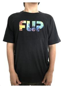 Camiseta Flip Odyssey Tie Dye Logo Masculina - Masculino