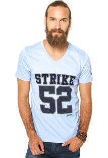 Camiseta Sommer Reta Azul