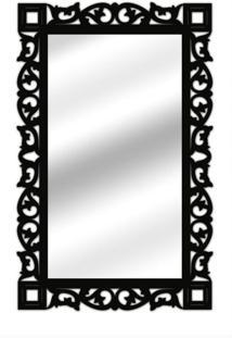 Espelho De Parede 14847P Preto 70X110 Art Shop