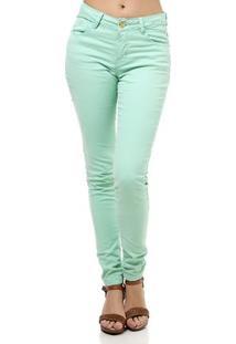 Calça De Sarja Feminina Verde