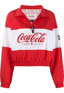 Tommy Jeans Jaqueta Tommy X Coca Cola - Vermelho