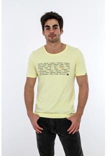Camiseta Romeo Store Words Slim Fit - Masculino