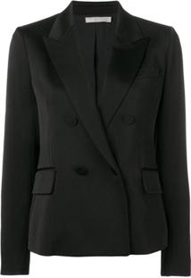 Vince Double Breasted Jacket - Preto