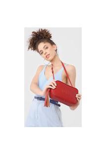 Bolsa Dumond Tassel Vermelha