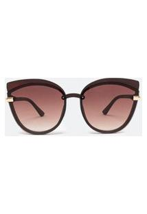 Óculos De Sol Feminino Modelo Gateado | Accessories | Marrom | U