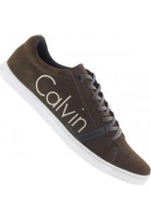 Tênis Calvin Klein Limited - Masculino - Marrom Escuro