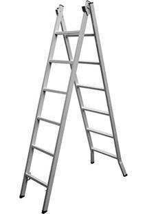 Escada De Abrir Extensiva 06 A 12 Degraus Alustep 3,1 M