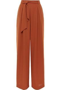 Calça Crepe Pantalona Cambridge