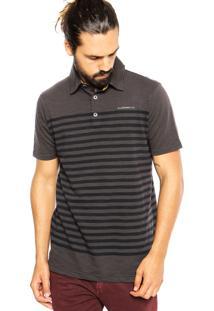 Camisa Polo Ellus Slim Marrom