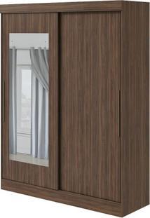 Guarda-Roupa Montebello Com Espelho - 2 Portas - Imbuia Naturale