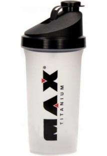 Coqueteleira Shaker - 600Ml - Max Titanium