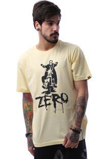 Camiseta Zero Ghost Rider Amarelo