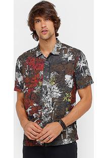 Camisa Ellus Jungle Fiver Masculina - Masculino