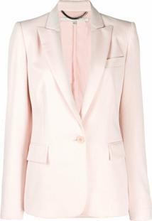 Stella Mccartney Blazer Com Botões - Rosa