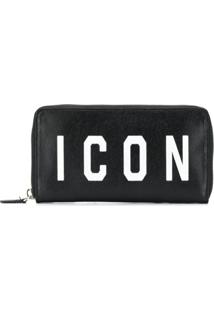 Dsquared2 Carteira Icon - Preto