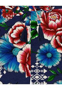 Shorts Cintura Alta Estampa Guadalupe - Lez A Lez