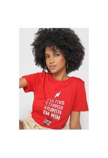 Camiseta Cantão Cultivo Vermelha