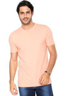 Camiseta Polo Wear Lisa Coral