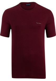 Camiseta Bordô Mesclada