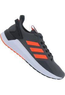 Tênis Adidas Questar Ride - Masculino - Cinza Esc/Laranj Esc