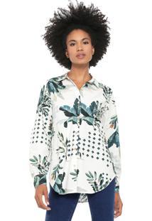 Camisa Dress To Jardim Secreto Verde