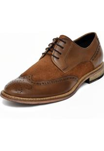 Sapato Social Jardini Linha Clássico Caramelo