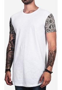 Camiseta Longline Bandana 100378