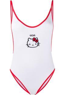 Gcds Maiô Hello Kitty - Branco