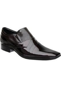 Sapato Social Masculino Em Couro Jota Pe Boss - Masculino
