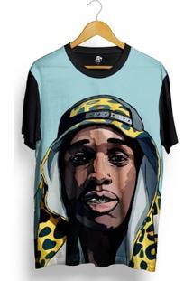 Camiseta Bsc Asap Rocky Full Print - Masculino