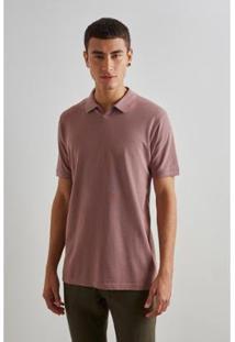 Camisa Polo Pima Decote Transpassado Reserva Masculina - Masculino