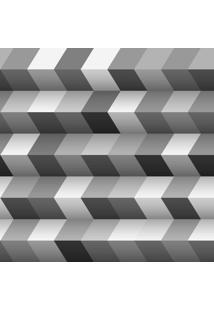 Papel De Parede Adesivo Blocos Cinzas (0,58M X 2,50M)