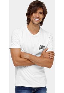 Camiseta Colcci Bolso Estampado Masculina - Masculino