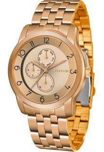 Relógio Feminino Lince Lmr4589L-R2Rx Analógico