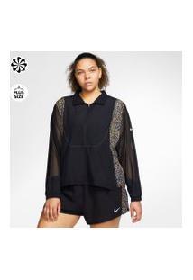 Plus Size - Jaqueta Nike Icon Clash Feminina