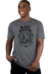 Camiseta Bleed American Grizzly Chumbo