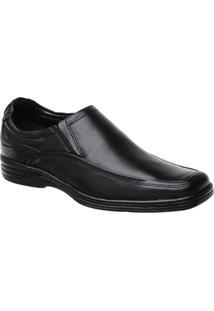 Sapato Conforto Malbork Em Couro Liso - Masculino
