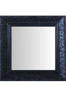 Espelho Moldura Rococó Fundo 16153 Preto Art Shop