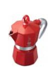 Cafeteira Moka Glossy Vermelha