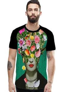 Camiseta Stompy Raglan Modelo 163 Masculina - Masculino-Preto