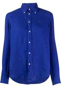 Polo Ralph Lauren Camisa Com Botões - Azul