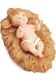 Enfeite Decoração De Natal Menino Jesus Manjedoura 4X4X7Cm