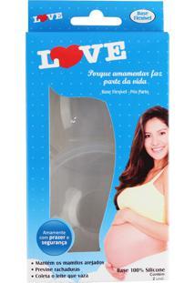 Concha Love Baby Leite Materno Transparente