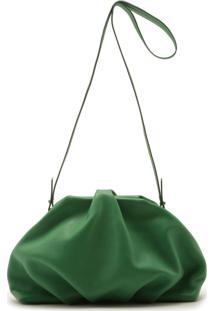 Clutch Avril Leather Green | Schutz