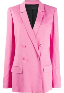 Haider Ackermann Double-Breasted Jacket - Rosa
